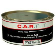 Alu&Soft - Двухкомпонентная шпатлевка полиэфирная с алюминием