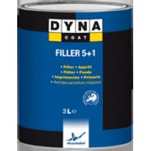 Filler 5+1 - толстослойный и быстро отвердевающий грунт-наполнитель