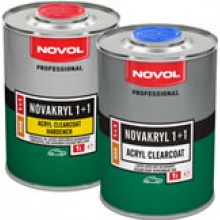 NOVAKRYL 1+1 MS - Бесцветный акриловый лак