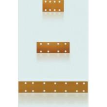 Абразивные материалы в полосках серии Gold на бумажной основе с отверстиями