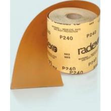 Абразивный материал в рулонах серии Gold на бумажной основе для шлифования «по-сухому»