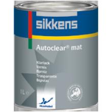 Autoclear Mat - Матовый лак для отверждаемых (2К) отделочных покрытий
