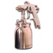 Окрасочный пистолет с нижней подачей