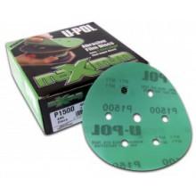 Абразивные диски премиум на пластиковой основе 8+1H