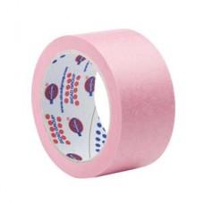 Скотч MSK6265  25ммx45м розовый EUROCEL