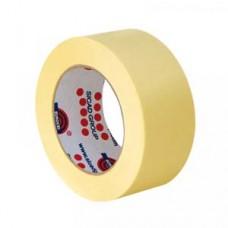 Скотч MSK80  25ммx50м желтый EUROCEL